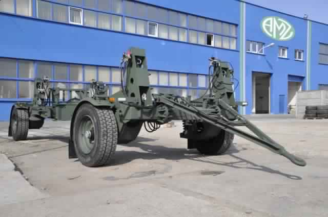 Hydraulic Gun Carriage up to 6T